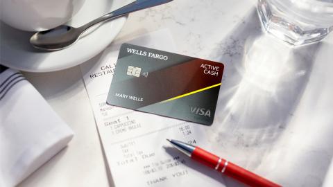Wells Fargo Announces Active Cash Credit Card. (Photo: Wells Fargo)