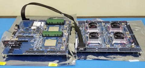 Tachyum Prodigy FPGA Two Boards (Photo: Business Wire)