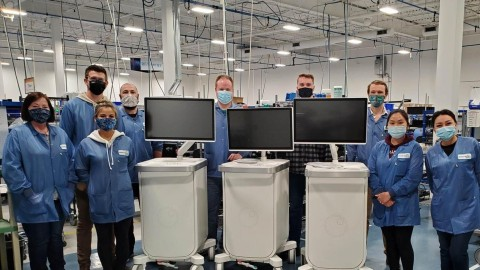 Commercial-scale manufacturing of Perimeter S-Series OCT now underway (Photo: Business Wire)