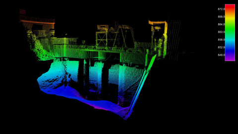 The Seabed mobile mapping system, equipped with a Velodyne Lidar Puck™ sensor, can be combined with a bathymetric multi-beam echo-sounder to provide a complete 3D, georeferenced image above and below water, saving time and money. (Photo: Business Wire)