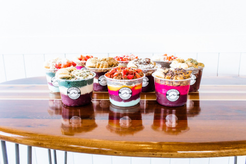 Nautical Bowls offers a wide selection of fresh açai bowls. (Photo: Business Wire)