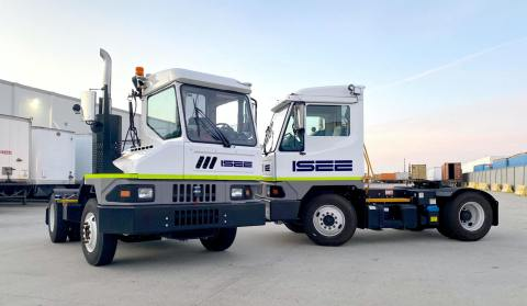 ISEE announces the launch of its groundbreaking AI-powered autonomous driving system for yard trucks to enhance performance and safety in transportation and logistics hubs. (Photo: Business Wire)