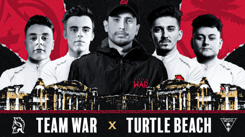 Team WaR and Turtle Beach have continued their partnership for 2021 and beyond via a new multiyear partnership announcement. Turtle Beach was Team WaR's first partner/sponsor, and the team will continue using the brand's Elite Pro 2 gaming headset, as well as the all-new Recon 500 gaming headset. (Graphic: Business Wire)