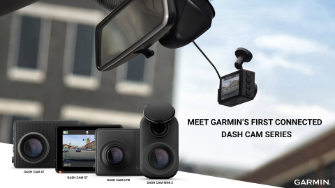 Meet Garmin's first connected dash cam series (Graphic: Business Wire)