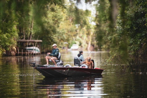 National Marine Manufacturers Association reports recreational boating industry is booming, sales up in 2021 as Americans take to the water in the wake of COVID-19 pandemic. (Photo: Discover Boating)
