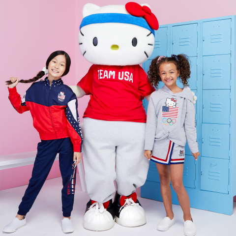 U.S. Olympic Athlete Allyson Felix Joins Sanrio® for the Launch of Limited-Edition Team USA Collaboration (Photo: Business Wire)
