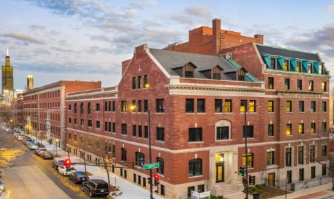 Located at 1515 West Monroe St., The Duncan is located in the growing West Loop/Fulton Market neighborhood which boasts a flourishing restaurant scene and thriving nightlife, making it one of the most in-demand neighborhoods in the area. (Photo: Business Wire)