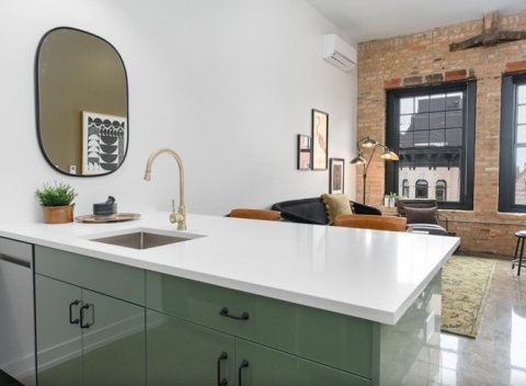The Duncan preserves its historic charm, offering renters architectural features that are not too cost-prohibitive to be replicated by new construction, while introducing modern amenities. (Photo: Business Wire)