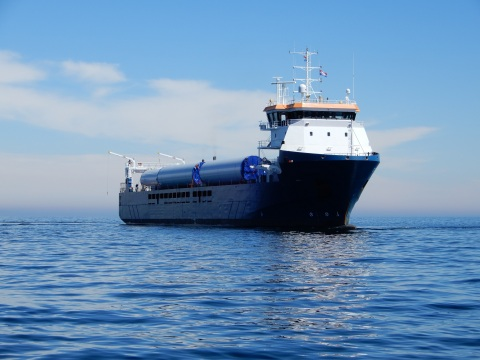"""GSL's multi-functional """"Eleanor"""" model can operate out of all regional ports along the United States' East Coast. (Photo: Business Wire)"""