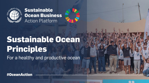 The Sustainable Ocean Principles of the United Nations Global Compact are a framework for responsible business practices in the Ocean across sectors and geographies. (Photo: Mary Kay Inc.)