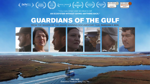 This announcement comes in the midst of a nation-wide festival tour of the Mary Kay-produced Guardians of the Gulf, a documentary that explores the tumultuous relationship between the Gulf of Mexico and the conservationists determined to protect it. (Photo: Mary Kay Inc.)