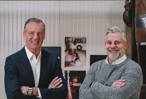 ROOQ Managing Directors Henry Maske and Ralf Rüttgers (Photo: Business Wire)