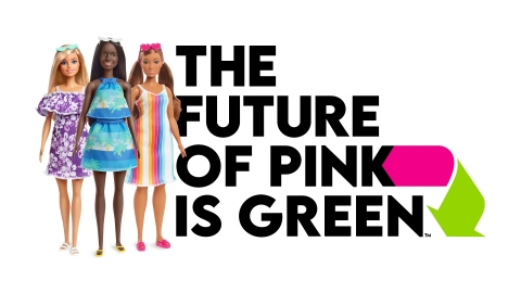 Mattel Launches Barbie Loves the Ocean; Its First Fashion Doll Collection Made from Recycled Ocean-Bound* Plastic (Graphic: Business Wire)