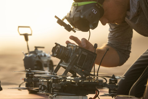 25-year-old Johnny FPV drives cinematic content creation to a new level in Drive2Extremes (Photo: AETOSWire)