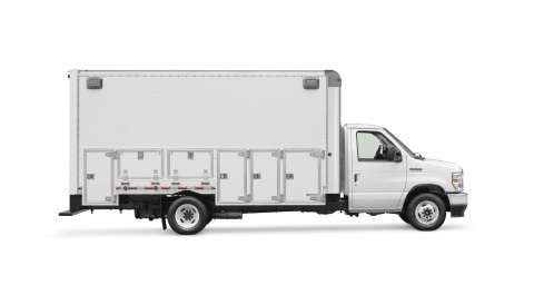 A purpose-built mobile fleet service and jobsite commercial truck. (Photo: Business Wire)