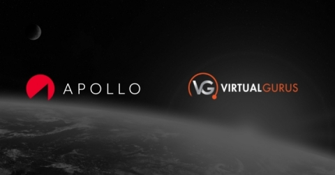 APOLLO Insurance has partnered with Virtual Gurus to provide their clients with access to digital insurance products. (Graphic: Business Wire)