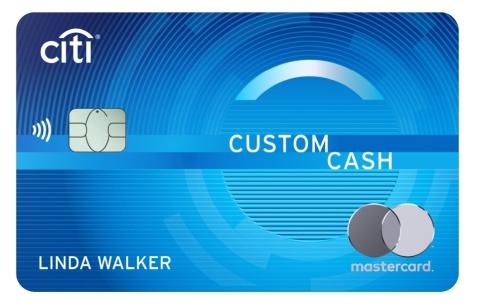 The Citi Custom Cash Card: A Next-Gen Cash Back Credit Card (Photo: Business Wire)
