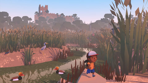 From idyllic beaches to the ancient castle overlooking the town, a whole island is ready to be explored in Alba: A Wildlife Adventure. (Graphic: Business Wire)