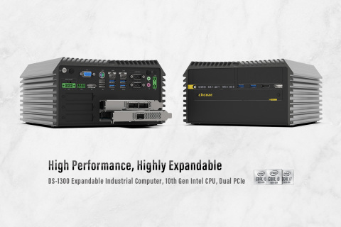 DS-1300 is a high-performance, high-expansion, rugged embedded computer, supporting up to 2x PCI/PCIe slots. (Photo: Business Wire)
