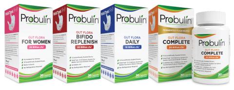 Probulin Probiotic EU Lineup (Photo: Business Wire)