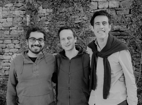 Hokodo Gründer Sami Ben Hatit, Richard Thornton und Louis Carbonnier (Photo: Business Wire)