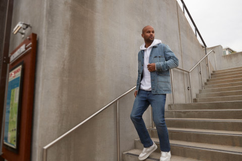 """""""Our Lee and Wrangler design teams believe office attire should be comfortable, relaxed and stylish. While office workers may have sacrificed comfort in the past, they now want to check all the boxes when selecting their return-to-office wardrobe,"""" said Scott Baxter, President and CEO, Kontoor Brands. (Photo: Business Wire)"""