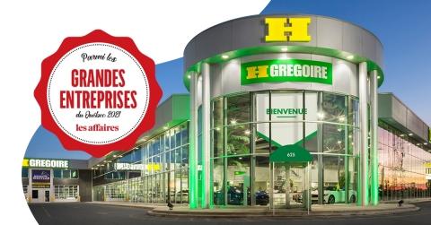 HGrégoire figure en 116e position du classement des 300 plus grandes entreprises du Québec publié par Les Affaires, avec ses plus de 1000 employés au Québec et 700 employés aux États-Unis. (Photo: Business Wire)