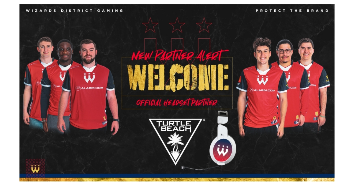 Turtle Beach x Wizards District Gaming.
