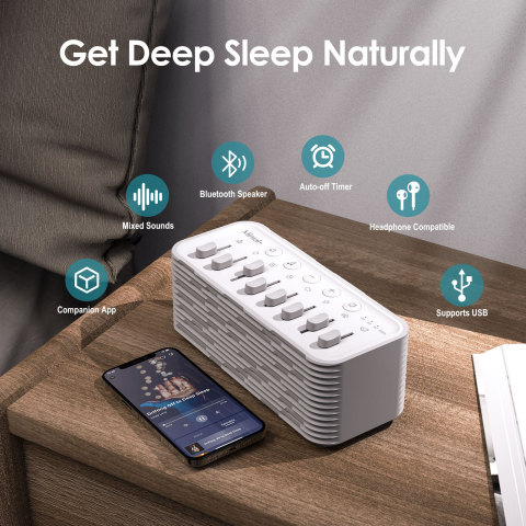 Mintal White Noise Machine (Photo: Business Wire)