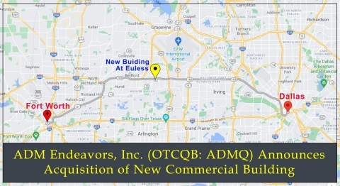 ADMQ Acquires New Commercial Building (Graphic: Business Wire)
