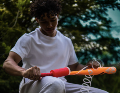 Nakoma Products, LLC launches another winning product, the Diamond Bat Grip (Photo: Business Wire)