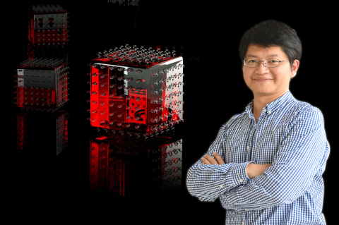 Professor Hao-Wu Lin of the Department of Materials Science and Engineering at NTHU has played a key role in developing the world's brightest quantum emitters at room temperature. (Photo: National Tsing Hua University)
