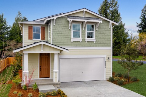 KB Home announces the grand opening of Stewart Crossing, its latest new-home community in a prime Pierce County, Washington location. (Photo: Business Wire)