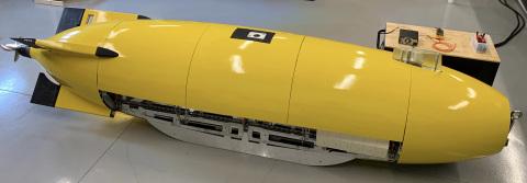 Dive Technologies Commercial Large Displacement AUV (Photo: Dive Technologies)