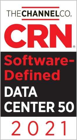 Riverbed recognized on the CRN® 2021 Software-Defined Data Center 50 list. (Graphic: Business Wire)