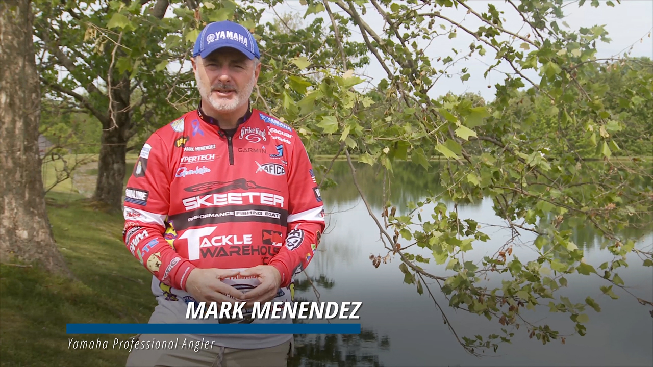 Yamaha Pro Angler Mark Menendez announces Yamaha Rightwaters' sponsorship of the Ducks Unlimited Gulf Coast Initiative, a multi-year conservation initiative dedicated to rebuilding wetlands lost to erosion, subsidence and sea level rise in Louisiana and Texas.