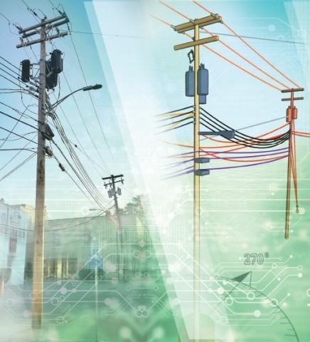 SPIDA is revolutionizing loading and oversight of utility asset analysis and management of structural health. (Photo: Business Wire)