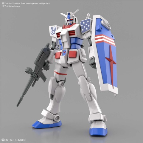 ENTRY GRADE ENTRY GRADE RX-78-2[US] GUNDAM (AMERICAN TYPE) October 2021 (Graphic: Business Wire)