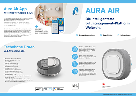 Aura Air Produktbroschüre