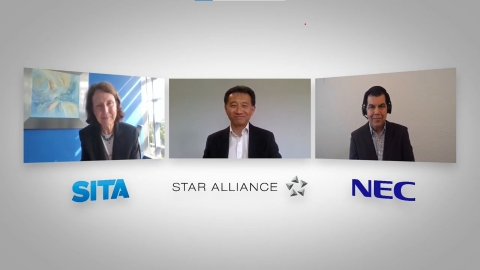 Watch executives from SITA, Star Alliance and NEC discuss the announcement of the partnership at the link provided, https://youtu.be/Yg8OLzM-raM (Photo: Business Wire)