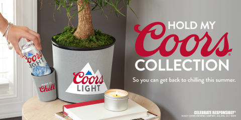 """Coors Light Launches """"Hold My Coors"""" Collection Featuring Products That Well…Hold Your Coors (Photo: Business Wire)"""