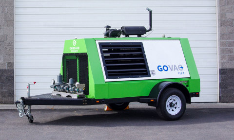 The GoVAC™ Flex transfers recovered methane to either an adjacent pipeline or tube trailer. (Photo: Business Wire)