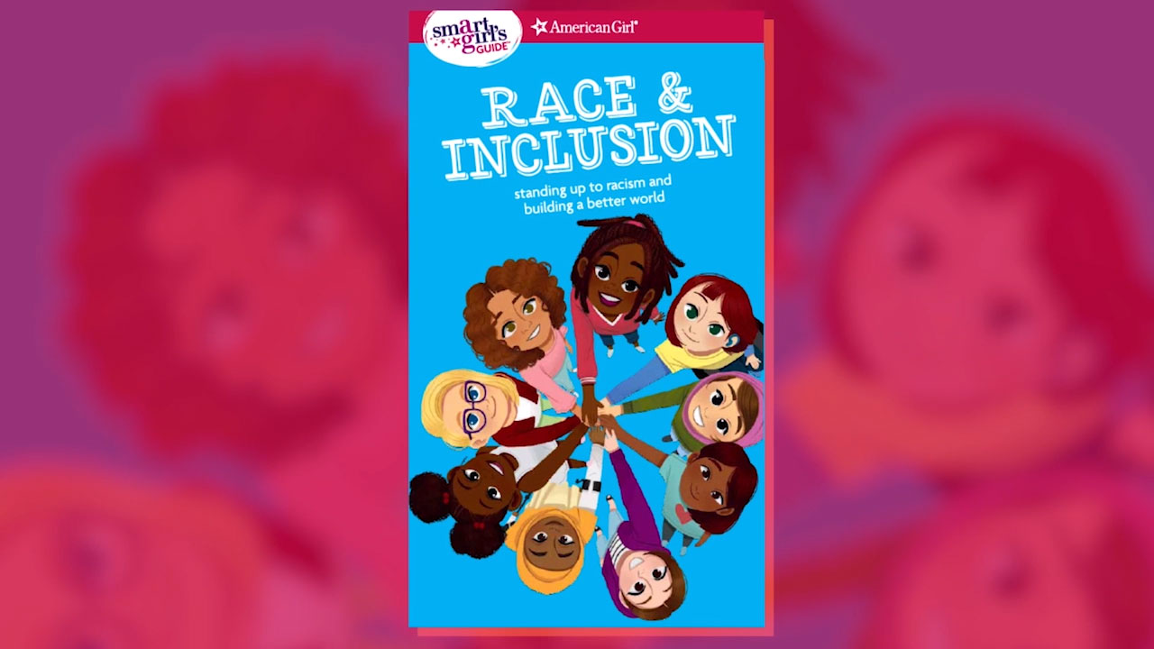 Author Deanna Singh discusses her new book, A Smart Girl's Guide: Race & Inclusion, the latest title in American Girl's popular advice series for readers 10 and up.