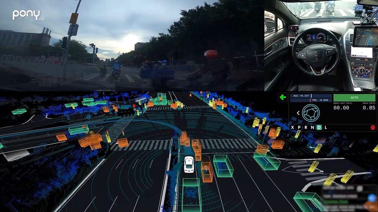 Driverless Testing in Guangzhou