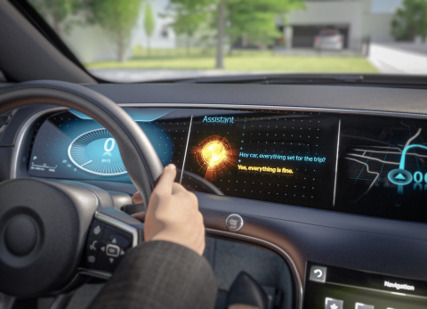 Customized voice experience: Continental and Elektrobit integrate Alexa Custom Assistant. (Photo: Business Wire)