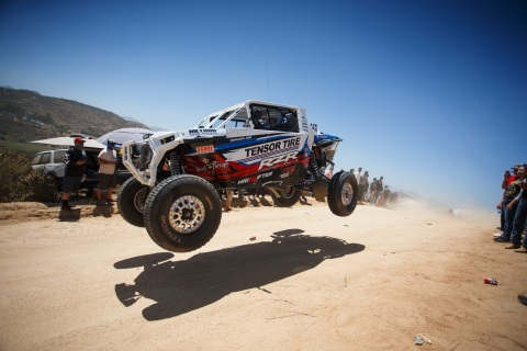 Branden Simms wins Baja 500 UTV Overall. Photo by UTV Sports Magazine