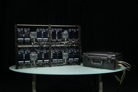Keysight's Nemo Network Benchmarking Solution combines a ruggedized case and modular mounting accessories with Keysight software to create a fully scalable solution that cost-effectively benchmarks 4G and 5G networks. (Graphic: Business Wire)