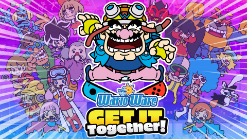 In WarioWare: Get It Together!, play through a vast array of quick microgames as Wario or his friends. (Graphic: Business Wire)