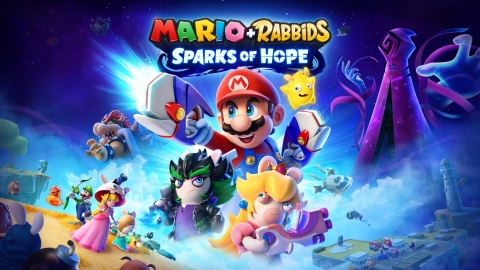 Mario + Rabbids Sparks of Hope will launch for Nintendo Switch in 2022. (Graphic: Business Wire)