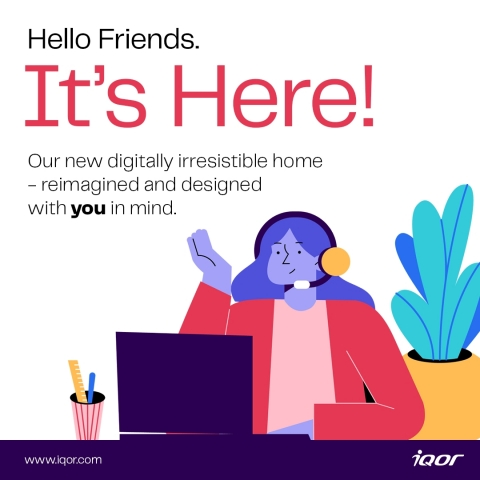 iQor Announces New Website; Tech-enabled BPO revamps website to reflect its ' digitally irresistible' solutions and culture (Graphic: Business Wire)